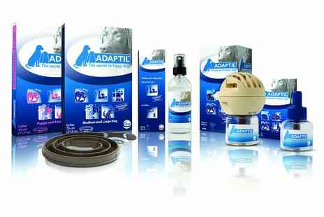 Petwell - Adaptil For Dogs Refill, Diffuser Set, Spray or Collar With Free Delivery  - Save 46%