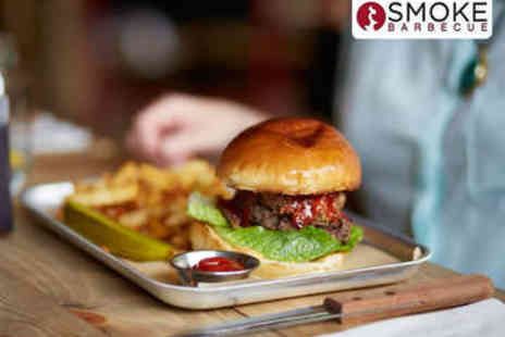 SMOKE BBQ - Lunchtime SMOKE Meal for Two - Save 0%