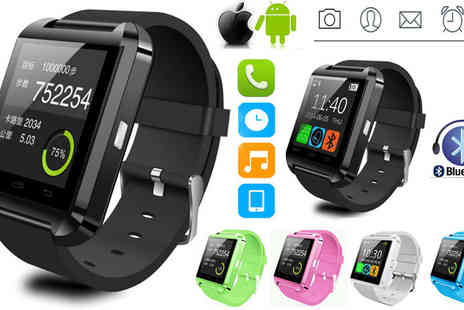 Aneeks - Bluetooth Smartwatch - Save 80%