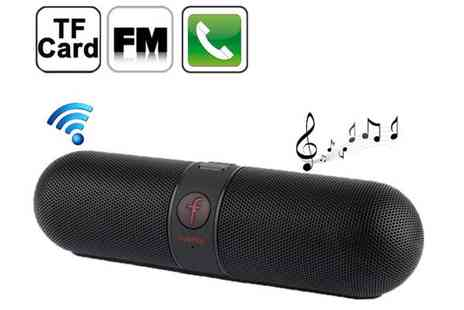 Euro Field - Fivestar Wireless Bluetooth Speaker - Save 73%
