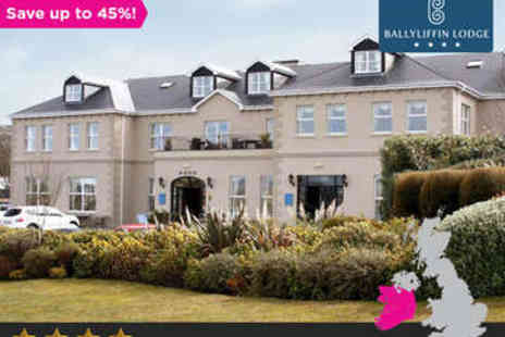 Ballyliffin Lodge & Spa - Two Night Stay for Two with Choice of Treatment Each - Save 45%