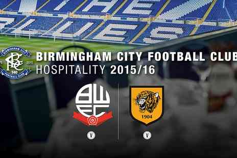 Birmingham City Football Club - Sky Bet Championship Champagne Arrival, Two Course Meal & Programme for Fixtures - Save 0%