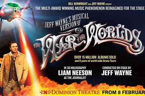 Ingresso - Tickets to to Jeff Waynes Musical Version of The War of The Worlds  - Save 0%