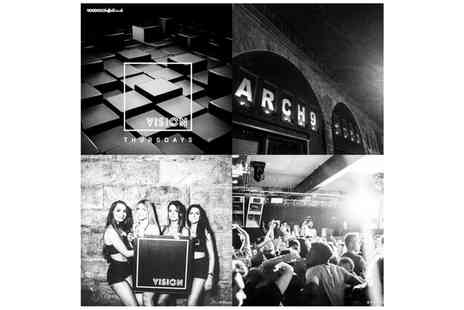 Arch 9 - Night Club Entry on Friday or Saturday Night For Up to Ten Including Drinks   - Save 0%