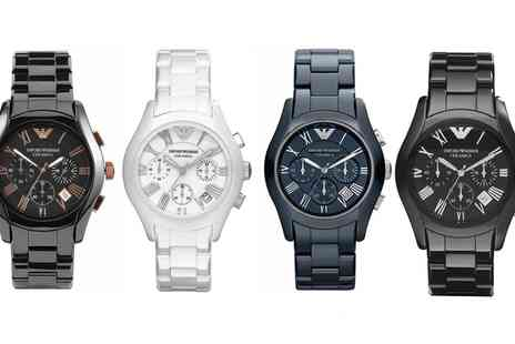 I love watches - Emporio Armani Ceramic Watch With Free Delivery - Save 58%