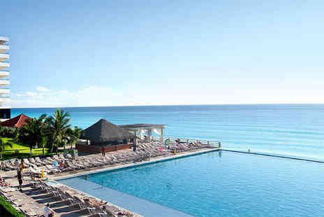 Your Holidays - Seven night 5 Star all inclusive Cancun break including direct return flights from Gatwick or Manchester  - Save 32%