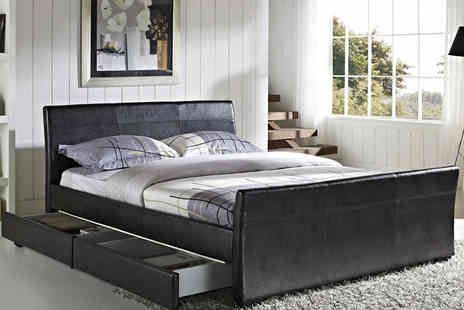 Limitless Base - Double Dresden four drawer storage bed  - Save 72%