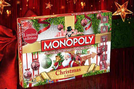 Mono Poly -  Horrible Histories, Doctor Who or Christmas Monopoly board game  - Save 17%
