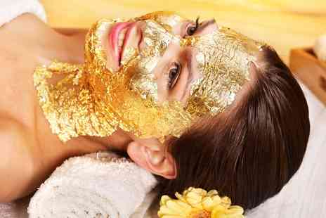 Soul Of Heart  - Gold Facial or Body Scrub and Massage with Optional Indian Head Massage  - Save 64%