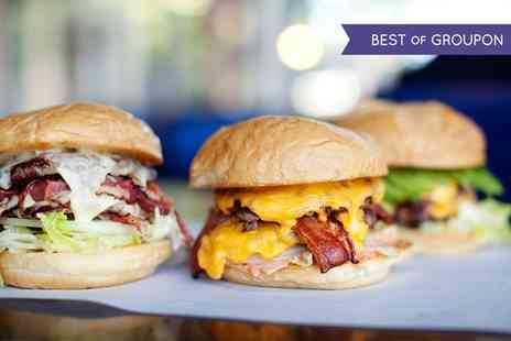 Meet Burger - Burger and Fries for One or Two - Save 54%