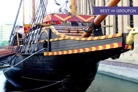 The Golden Hinde - One Night Camping Aboard a Gun Deck For One  - Save 0%