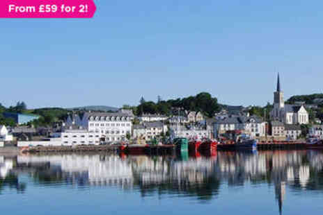 The Bay View Hotel and Leisure Centre  - Overnight stay for two With  full Irish breakfast - Save 0%
