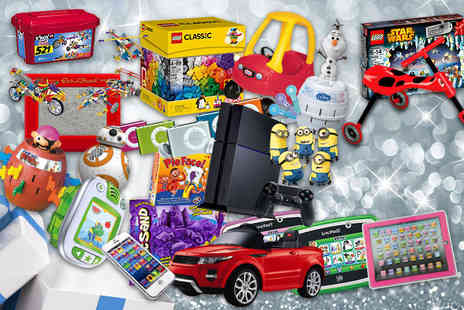 Wowcher Direct - Four LEGO, Minions, Star Wars Sphero BB droid, a ride-on Range Rover and more - Save 0%