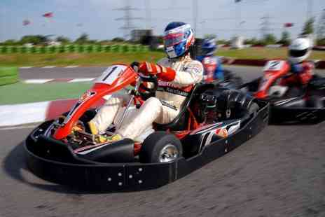 LetsGoActive - Go karting experience for two - Save 50%