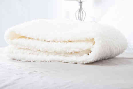 Bedding Direct - Single thermal fleece under sheet blanket - Save 72%