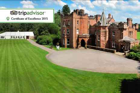 Friars Carse Hotel - One night stay for two including dinner, Prosecco and breakfast - Save 34%