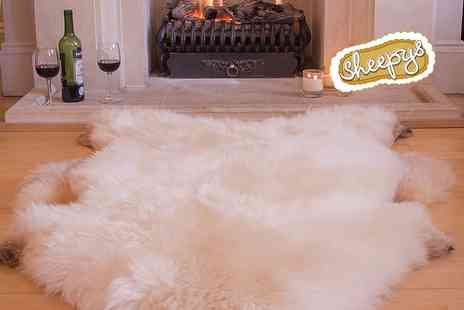 Sheepys - Large sheepskin rug   - Save 51%