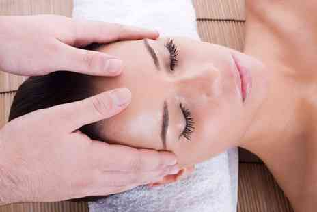 New York Glamour Hair and Beauty salon -  Indian Head Massage, Facial and a Choice of Manicure with Polish - Save 0%