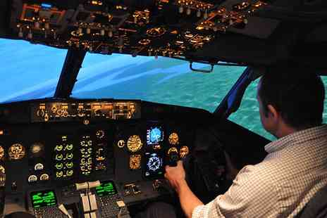 Jet Simulation  - Passenger Jet Simulation Session for Junior Pilots  - Save 56%