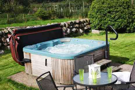 Meiklebob Holiday - Two or Threee Nights For Up to Four With Private Hot Tub and Welcome Hamper  - Save 0%