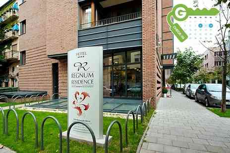 Hotel Regnum Residence - Two nights Stay for Two With Breakfast and Late Check Out  - Save 0%