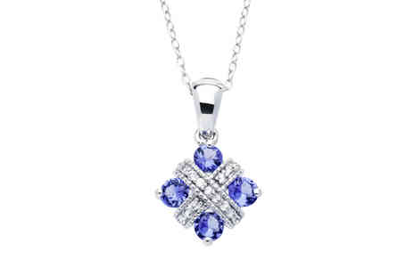 Lyncroft Marketing Services - Dazzling Tanzanite Pendant - Save 0%