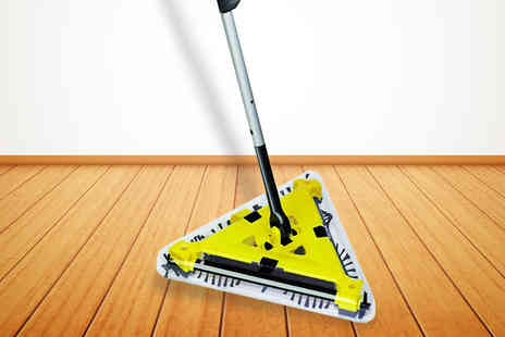 The Magic Emporium - Rechargeable Triangular Sweeper - Save 53%