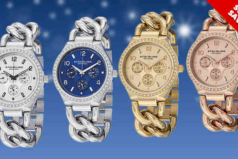 Ideal Deal - Lady Renoir Shine Stuhrling Watch in Four styles - Save 83%