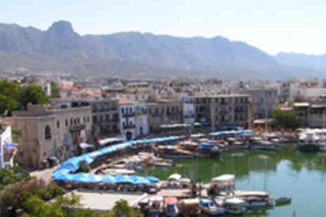 A1 Cyprus - 7 night half board 4star break in Kyrenia, Cyprus including flights- Save 50%