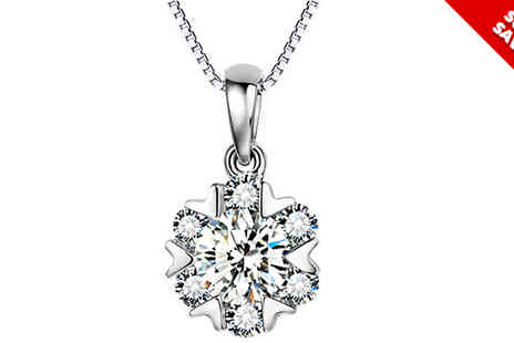 Van Amstel diamond - Crystal Necklace Cheryl - Save 86%