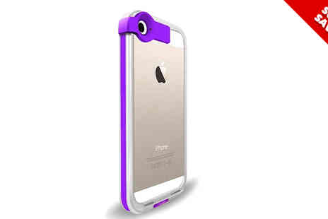Emyub - LED iPhone Case and Charging Cable Available Two Colours - Save 70%