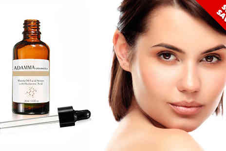 Adamma Beauty - Marula Oil Facial Serum with Optional Galvanic Pen - Save 73%