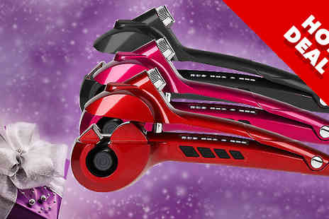 Bing bang bosh - MakeMe Curl Steam Curler Three Colours - Save 78%