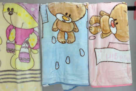 Gorgeous Selection - Baby Snuggle Blankets in a Gift Box - Save 67%