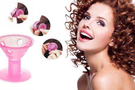 Get Gorgeous - 10 x Vintage Silicone Hair Curlers - Save 47%