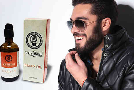 Forever Cosmetics - Mr. Singhs Beard Oil 100ml - Save 78%