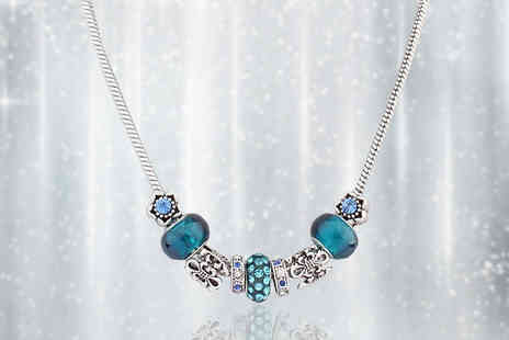 My Boutique Store - Crystal Charm Necklace - Save 88%