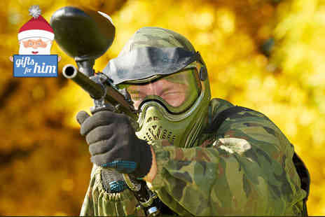 Mayhem South East - Paintball day for five  lunch and 100 paintballs - Save 80%