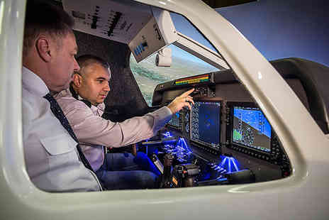SoftekSim - 30 min flight simulator experience for up to four - Save 51%
