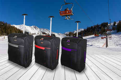 Pahal Trend - Two cabin approved wheelie suitcases - Save 78%