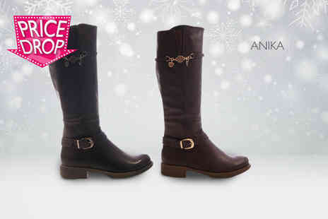 Sole Wish - Pair of riding boots - Save 76%