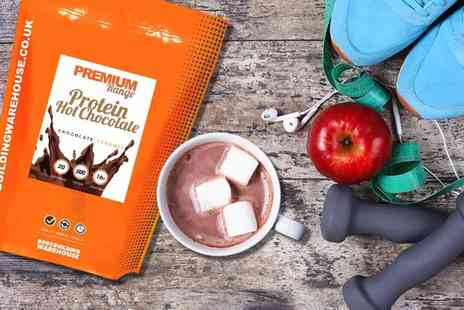 Warehouse - 500g pouch of premium protein hot chocolate - Save 40%
