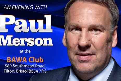 Black Dog Events - VIP Ticket to An Evening with Paul Merson with Buffet on 15 April  - Save 42%