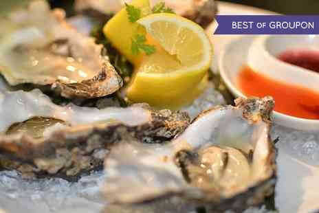 Chamberlains Restaurant - Six or 12 Oysters with a Glass of Prosecco for Two - Save 40%