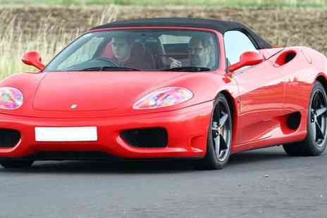 Driving Experiences 4 U - Ferrari 360 Experience for One - Save 55%