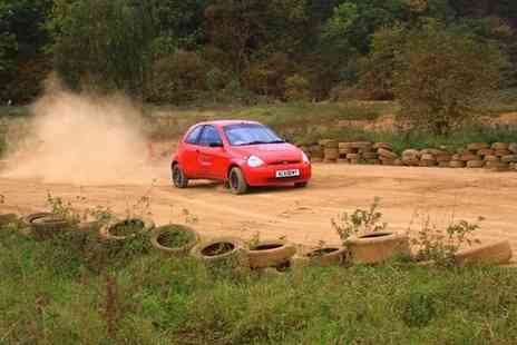 Silverstone Rally School - Adrenalin Rally Car Experience For One - Save 50%