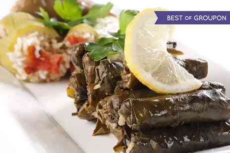 Athena Palace Greek Taverna - All You Can Eat Meze and Wine For Two - Save 52%