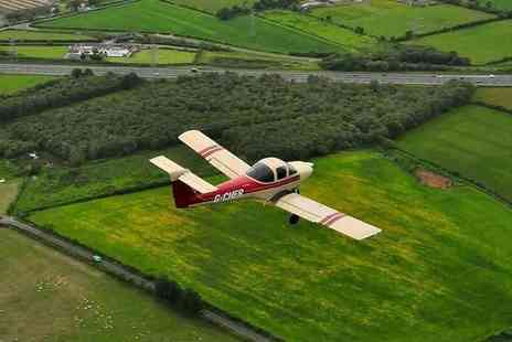 Eden Flight Training - 60 Minute Flying Experience in a Two  or Four Seater with Certificate - Save 49%
