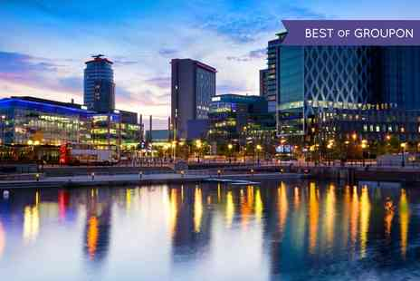 Britannia Hotel Manchester - One Night Stay For Two With Breakfast With Option For Dinner And Wine  - Save 0%