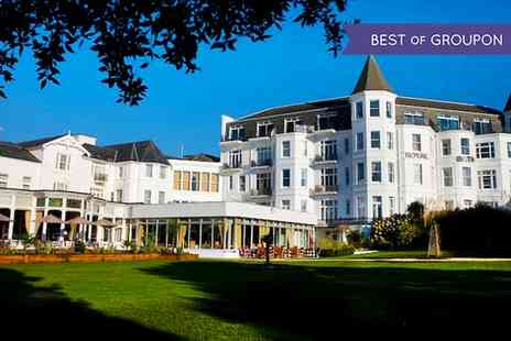 Royal Bath Hotel - One Night Stay For 2 With Breakfast With Option For Dinner and Wine  - Save 0%